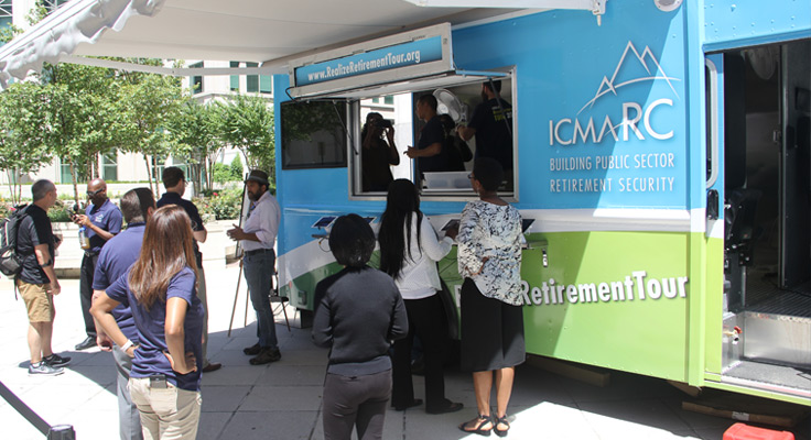 ICMA-RC RealizeRetirement® Tour Continues to Roll Cross County